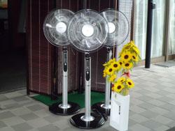 扇風機 15台